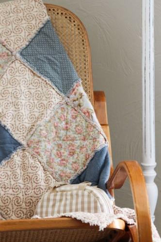 Article sur les origines du patchwork, ses blocs, la symbolique, entre nécéssité et art textile