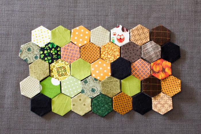 méthode anglaise positionner les hexagones à votre convenance - Tutoriel parfumdecouture.com