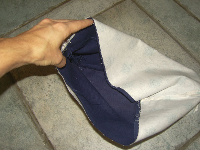 positionnement des sacs - tutoriel tote bag parfumdecouture.com