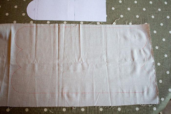 tracer les patrons sur tissu