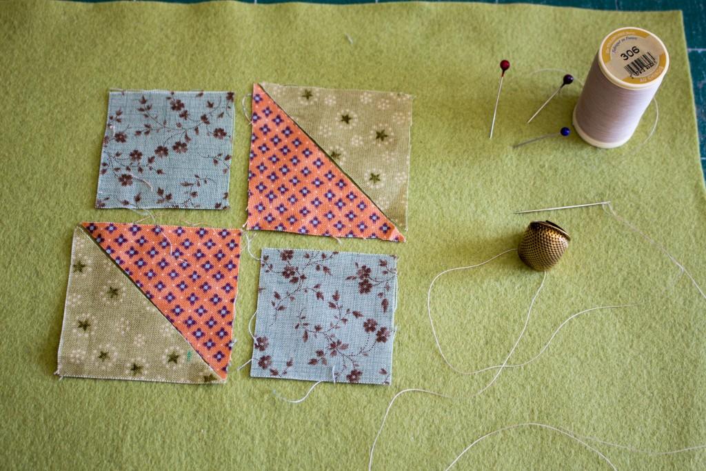 Morceaux prêts à coudre et matériel - methode patchwork traditionnel parfumdecouture.com