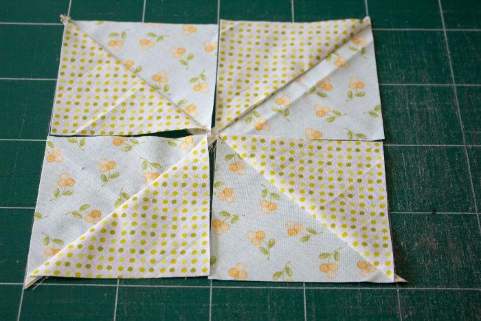Composez votre bloc pinwheel - quilt pinwheel parfumdecouture.com