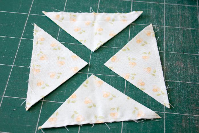 Morceaux du bloc pinwheel - quilt pinwheel parfumdecouture.com