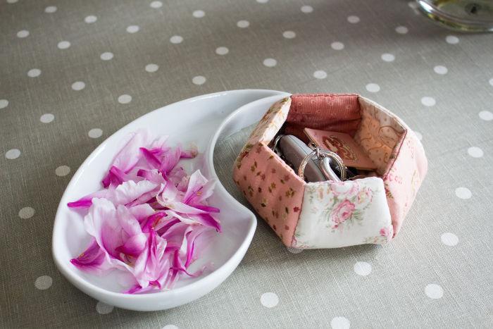 la corbeille en tissu - vide-poches - parfumdecouture.com