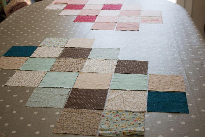 exemple de plusieurs couleurs de sacs - diy sac 22 carrés parfumdecouture.com