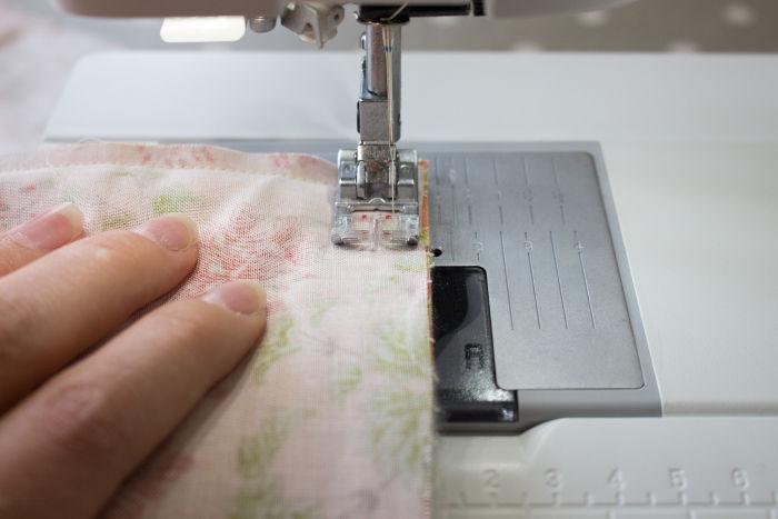 couture machine à 0.5 cm- diy sac 22 carrés parfumdecouture.com