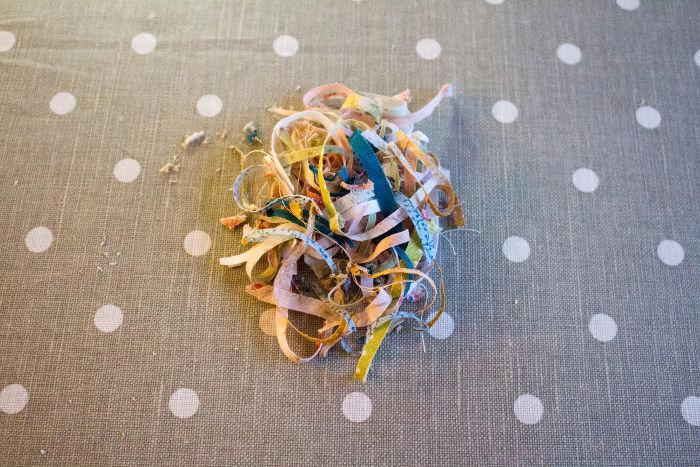 Recoupe des blocs - montage Quilt pinwheel parfumdecouture.com