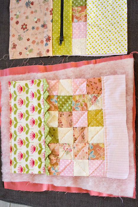 Quilting - Scrap quilt housse d'ipad parfumdecouture.com
