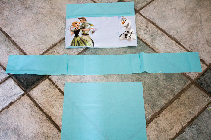 Ordre de couture de la doublure du sac - Sac reine des neiges disney parfumdecouture.com