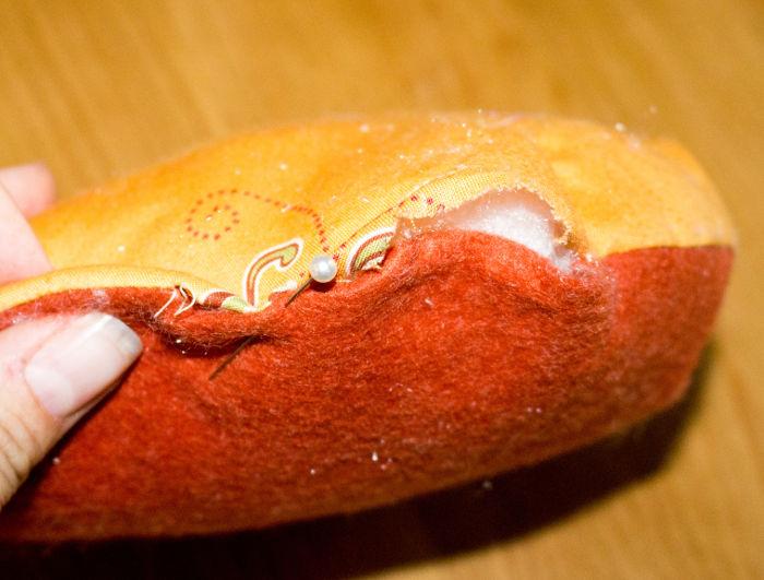 Fermez le cercle - DIY Citrouille pique épingle parfumdecouture.com