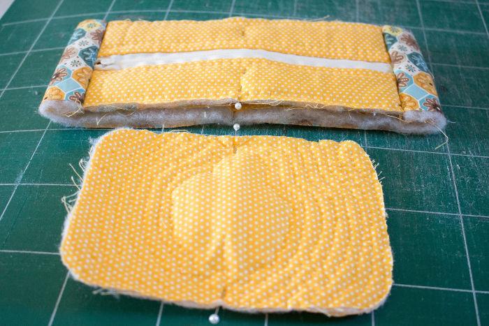 Positionnez les repères avant couture- diy trousse tricoteuse gaston le mouton parfumdecouture.com
