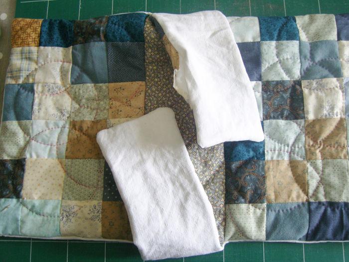 Sac prêt à être cousu - DIY Sac motif petits carrés patchwork parfumdecouture.com
