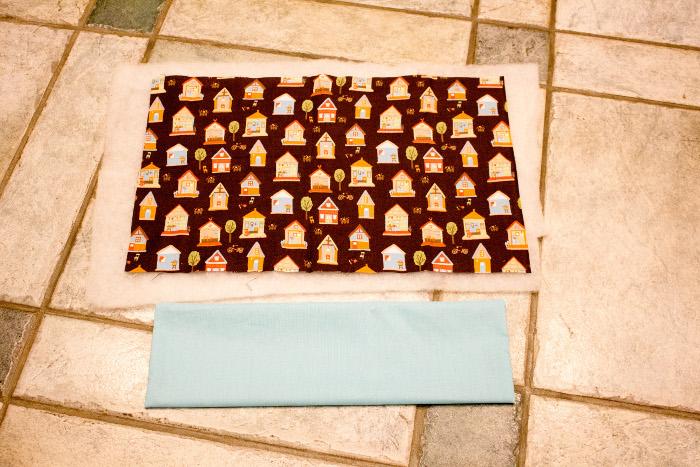 Préparez votre housse extérieure - DIY Bouillotte sèche maison parfumdecouture.com