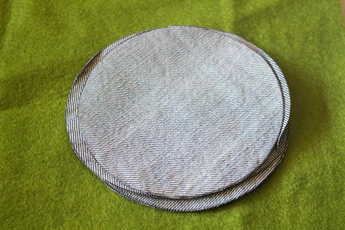 cercles pour le pliage japonais - mug rug pliage japonais parfumdecouture.com