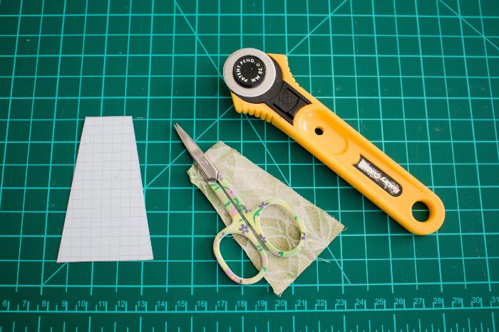 """Création d'un gabarit papier assiette de dresde - tutoriel Assiette de dresde ou """"dresden plate"""" parfumdecouture.com"""