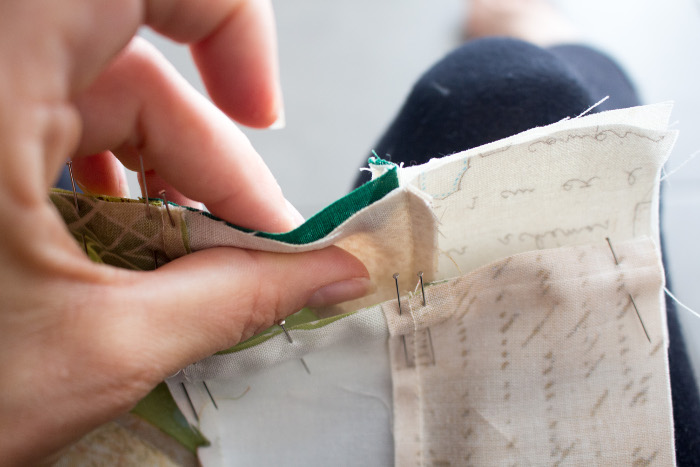 Nesting - tuto du bloc ananas parfumdecouture.com