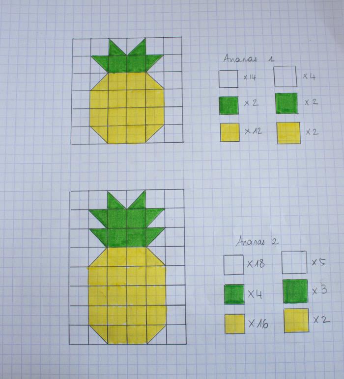 Patron bloc ananas - tuto du bloc ananas parfumdecouture.com