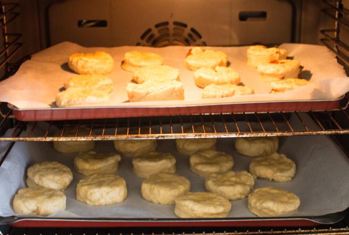Cuisson au four - recette des scones anglais parfumdecouture.com