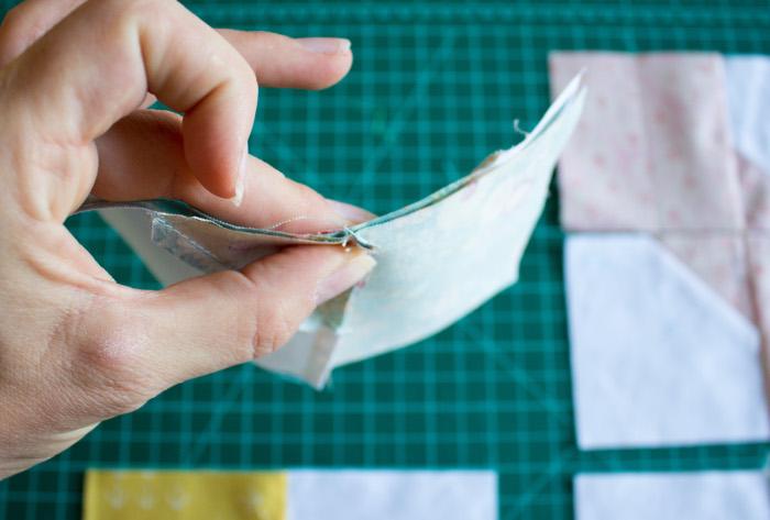 Nesting suite coutures intermédiaires - DIY comment faire un bloc Bow Tie parfumdecouture.com