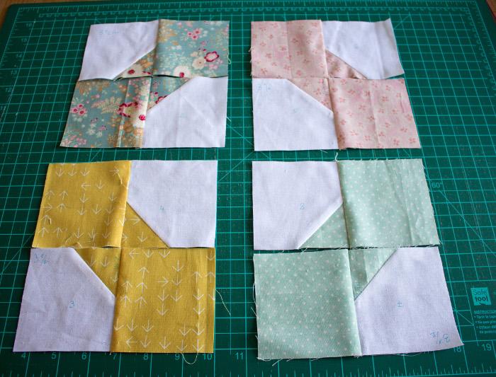 Assemblage des sous unités bow tie - DIY comment faire un bloc Bow Tie parfumdecouture.com