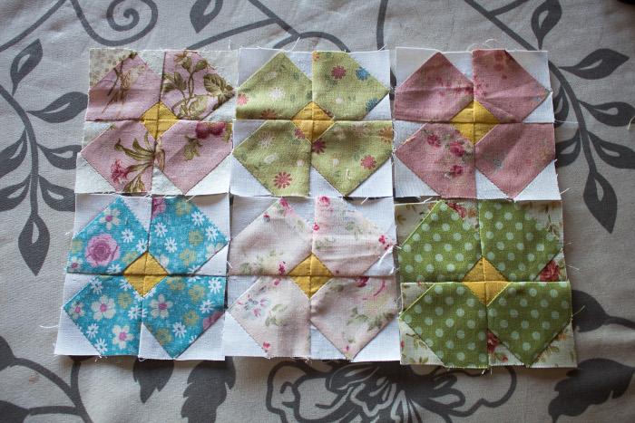Composition du mini quilt - DIY sac de rentrée parfumdecouture.com