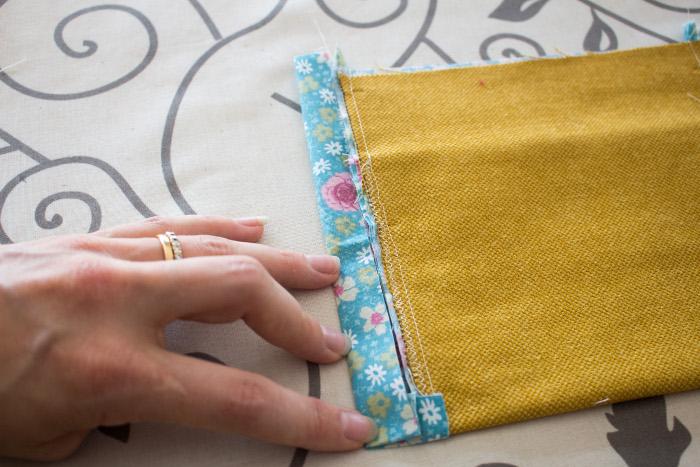 Pliage suite poche - DIY sac de rentrée parfumdecouture.com