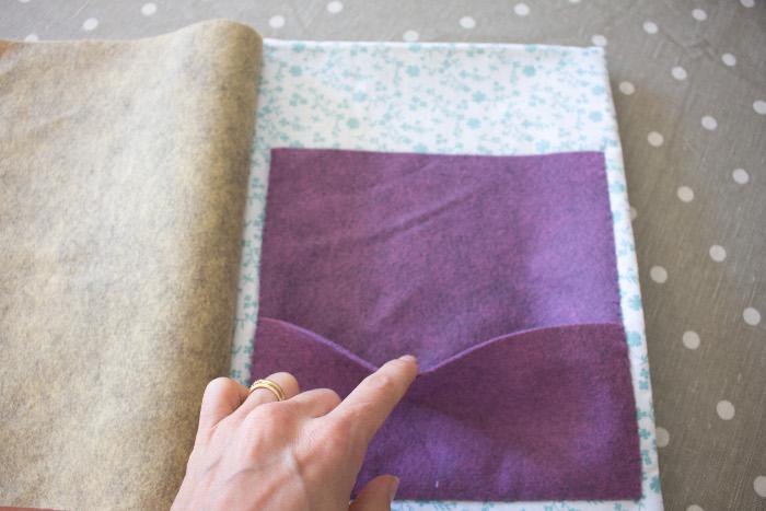 Poche intérieure supplémentaire - DIY cahier de composition parfumdecouture.com