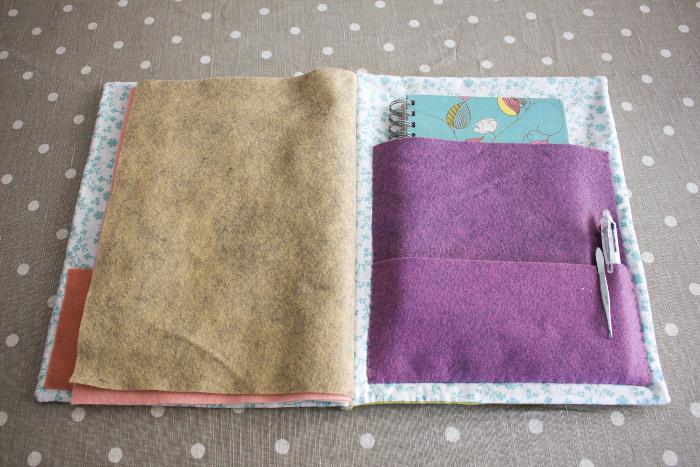 Suggestion d'utilisation des poches - DIY cahier de composition parfumdecouture.com