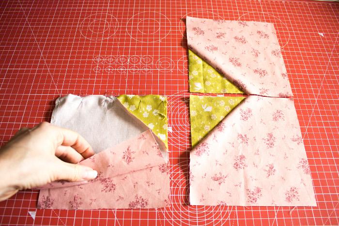 Assemblage 2 à 2 - DIY Comment faire un bloc diamant parfumdecouture.com