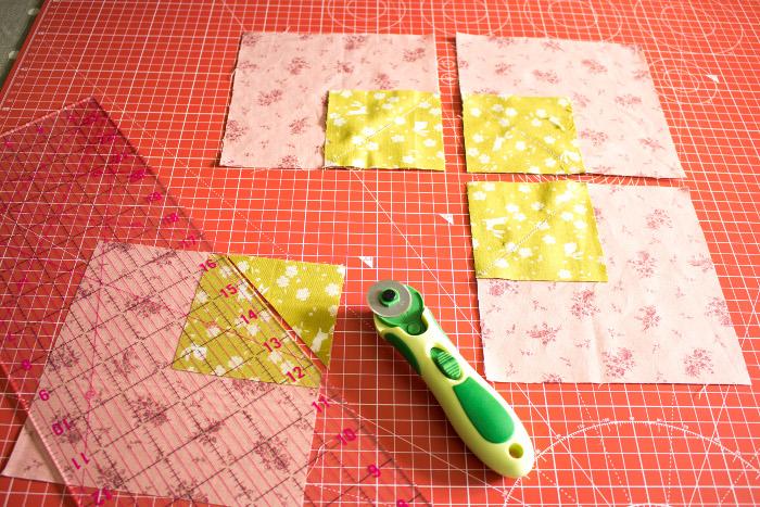 Coupe des marges de couture - DIY Comment faire un bloc diamant parfumdecouture.com