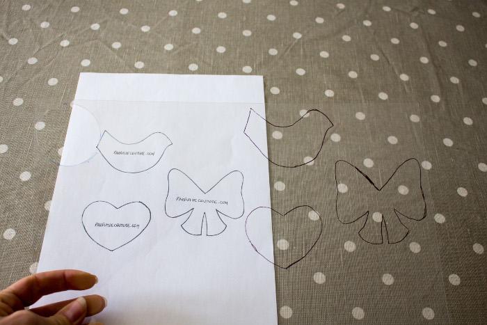 Dessins décalqués - Tuto Fussy Cutting: Comment faire un gabarit sur du plastique parfumdecouture.com