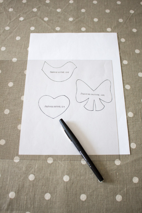 Décalquez les formes sur le plastique - Tuto Fussy Cutting: Comment faire un gabarit sur du plastique parfumdecouture.com