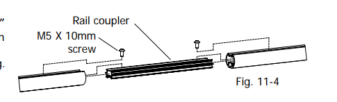 Schéma de montage 10 EZ3 du mode d'emploi - tuto monter un quilting frame EZ3 site parfumdecouture.com