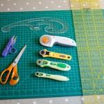 Tuto: Matériel pour couper du tissu facilement