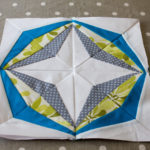 Paper piecing ou Patchwork sur papier